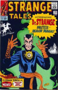Strange Tales Comic introducting Doctor Strange