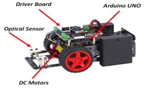 Make:it -Line-following-robot